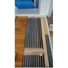 1 mb - 0,6 m² - Folia grzewcza podłogowa 60cm - 80W/m²