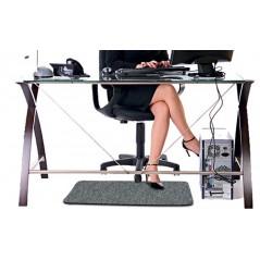EASY szary dywanik grzewczy do stóp na podczerwień