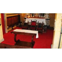 Dywan grzejny na podczerwień do kościołów – pod wymiar