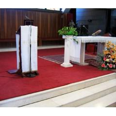 Dywan grzewczy na podczerwień do kościołów – pod wymiar