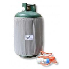 Ogrzewanie na podczerwień butli gazowych - ATEX II 3G