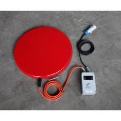 500 W Ogrzewacz dna beczek do 100°C + termostat T602.A