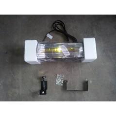 HLW15BGIP55 - Czarny 1500W Promiennik podczerwieni, złota lampa