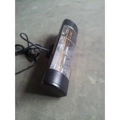 HLW15BGIP55 - Czarny 1500W zewnętrzny promiennik podczerwieni, złota lampa