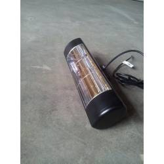 HLW15BGIP55 - Czarny 1500W ogrzewanie podczerwienią, złota lampa