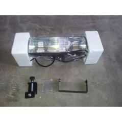 HLW20BGIP55 - Czarny 2000W Promienniki podczerwieni, złota lampa