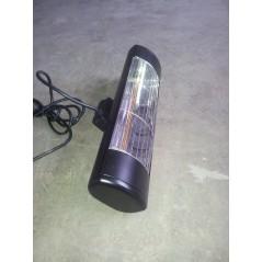 HLW20BGIP55 - Czarny 2000W promienniki ciepła na podczerwień, złota lampa
