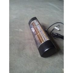 HLW20BGIP55 - Czarny 2000W elektryczny promiennik IR, złota lampa