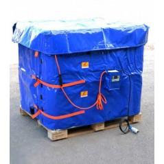 2750W Płaszcz grzewczy do paletopojemników IBC o pojemności 1000L + termostat T602.A