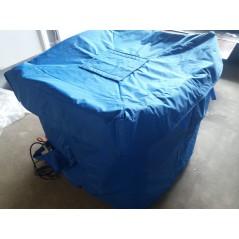 1700W Płaszcz grzewczy do paletopojemnika IBC z termostatem T602.A