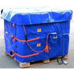 2750W Płaszcz grzewczy do paletopojemników IBC o pojemności 1000L + termostat T602.G