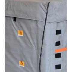 Samoregulujący płaszcz grzewczy do pojemników IBC z ATEX II 3G do strefy EX