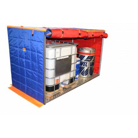 800W pojedynczy box grzewczy do beczek, zbiorników oraz pojemników IBC