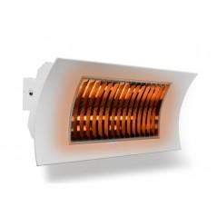 OASI - Biały promiennik podczerwieni o mocy 1000/2000W z pilotem