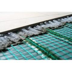 Mata grzewcza na siatce 150x350 - ogrzewanie elektryczne podłogowe