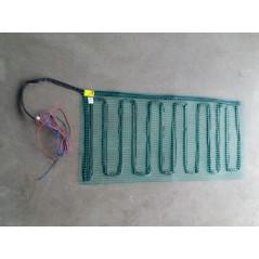 Mata grzewcza na siatce pod wymiar - moc od 60W do 140W na mkw