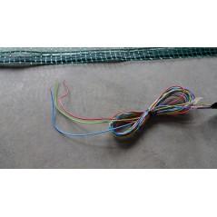 Mata grzewcza na siatce z uziemieniem pod wymiar - moc powyżej 140W na mkw