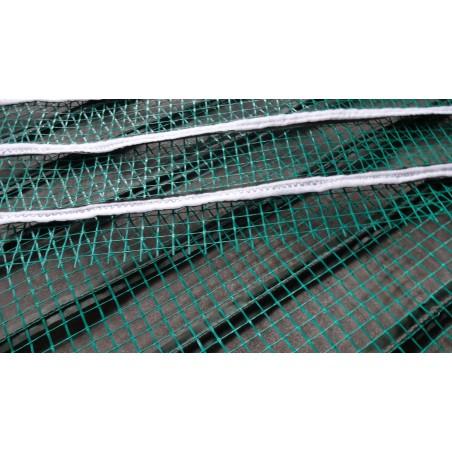 Mata grzewcza na siatce z uziemieniem pod wymiar - moc powyżej 140W na mkw - cena za mkw