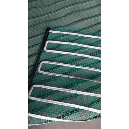 Mata grzewcza na siatce z uziemieniem pod wymiar - moc od 60W do 140W na mkw - cena za mkw