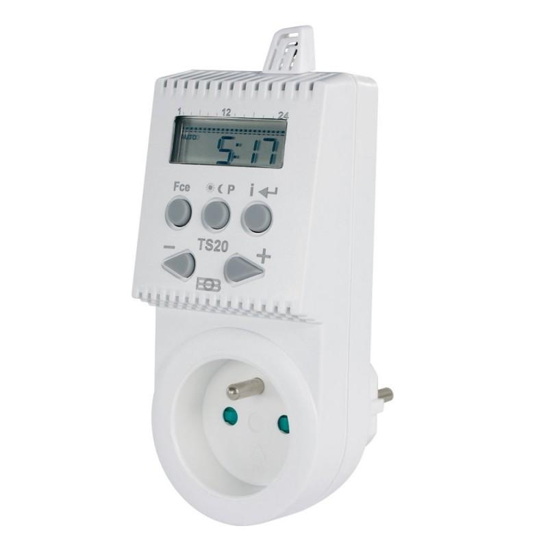 Termostat gniazdkowy TS20 - pogramowalny termostat