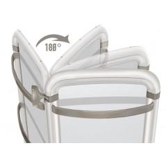 Helisea 70 Biały - 300W grzejnik elektryczny łazienkowy dwustronny, obrotowy