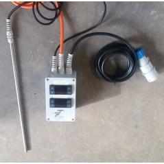 1000 W Ogrzewacz dna beczek do 150°C + termostat T602.G
