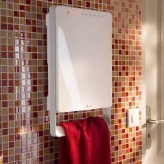 TOUCH - elektryczny grzejnik łazienkowy z serii Aurora