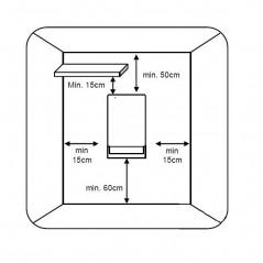 FOLIO VISIO - elektryczny grzejnik łazienkowy z serii Aurora