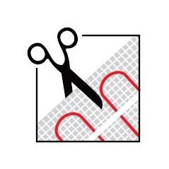 Mata grzewcza jednostronnie zasilana - 6 m2 - 150 W/m2
