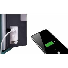 DEVA Lustro - grzejnik łazienkowy elektryczny 1500W