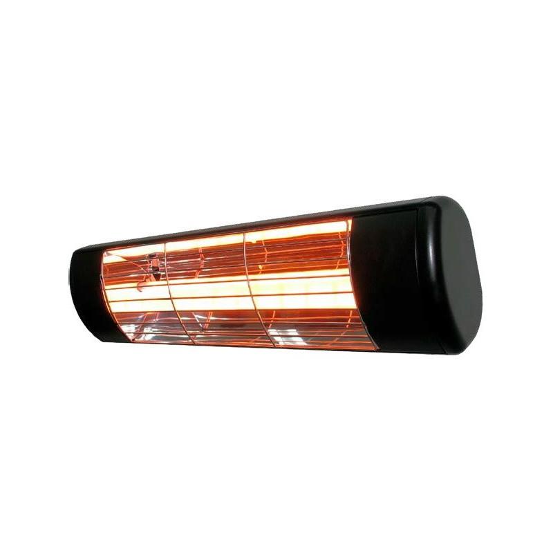 HLW15BGIP55 - Czarny 1500W Promienniki podczerwieni, złota lampa