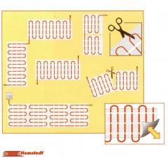 Hemstedt zestaw 2 - mata grzewcza + termostat dotykowy - 4,5 m2 - 150 W/m2