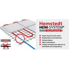 Hemstedt zestaw 2 - mata grzewcza + termostat dotykowy - 15 m2 - 150 W/m2