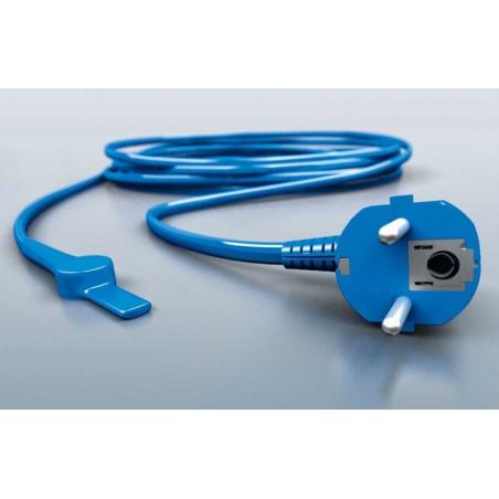 Kable grzewcze do rur z termostatem - 80W - 8 m