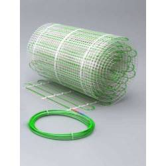 Dwuobwodowa mata grzewcza jednostronnie zasilana - 1 m2 - Green 70/140 W