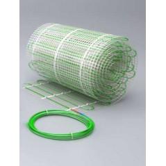 Dwuobwodowa mata grzewcza jednostronnie zasilana - 3 m2 - Green 198/396 W