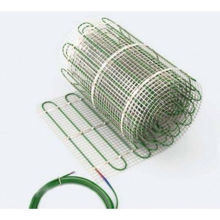 Dwuobwodowa mata grzewcza jednostronnie zasilana - 4 m2 - Green 275/550 W