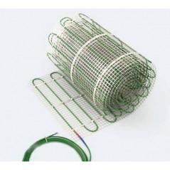 Dwuobwodowa mata grzewcza jednostronnie zasilana - 7 m2 - Green 488/976 W