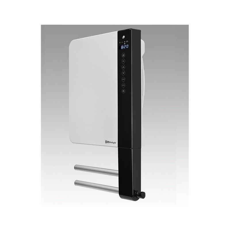 WINDY 2B - Łazienkowy grzejnik elektryczny z termostatem tygodniowym