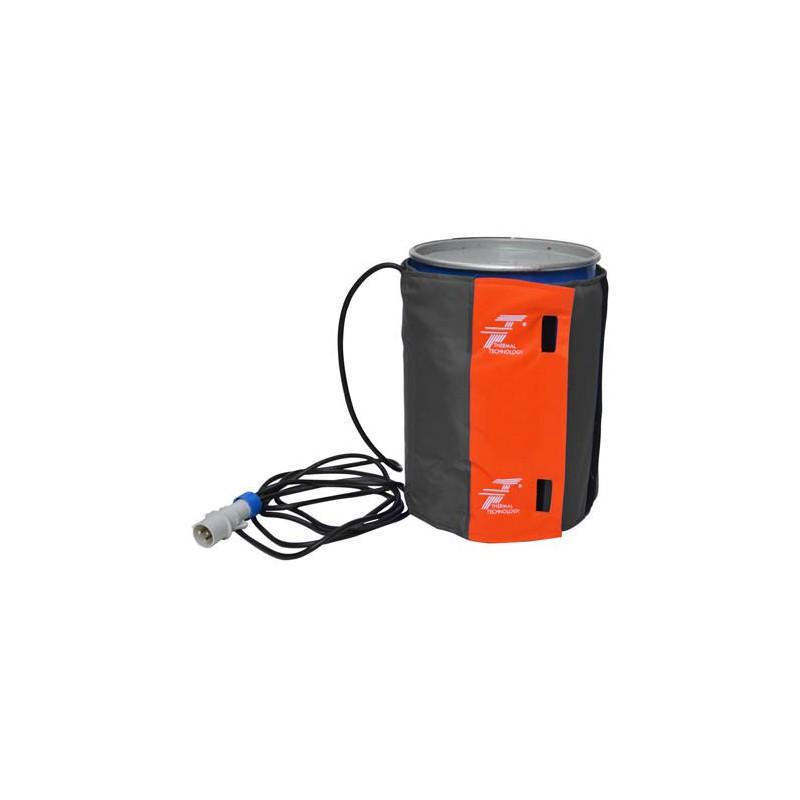 Płaszcz grzewczy do 200 litrowych beczek z ATEX II 3G o średnicy 54/62 cm do strefy EX