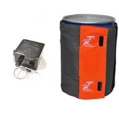 Płaszcz grzewczy z termostatem do 200 litrowych beczek z ATEX II 3G o średnicy 54/62 cm do strefy EX