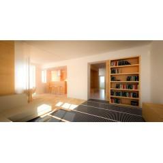 1 mb - 1 m² - Folia grzewcza podłogowa 100cm - 80W/m²