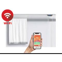 KLIMA 7 Wi-Fi z relingiem - 750W grzejnik elektryczny energooszczędny z wbudowanym modułem Wi-Fi