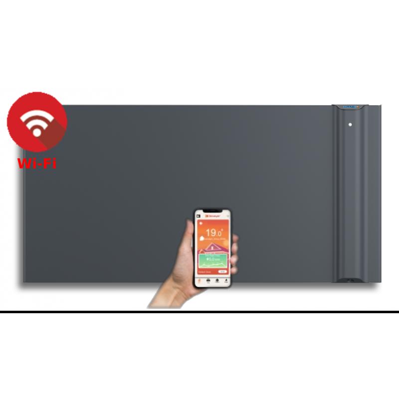 KLIMA 15 Wi-Fi - Kolor Antracyt - 1500W grzejnik elektryczny energooszczędny z wbudowanym modułem Wi-Fi