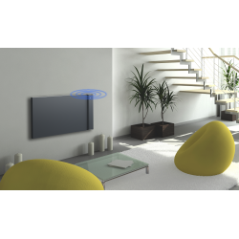 KLIMA 20 Wi-Fi - Kolor Szary - 2000W grzejnik elektryczny energooszczędny z wbudowanym modułem Wi-Fi