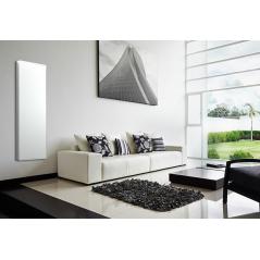 ICON 7 Wi-Fi – kolor Biały – 750W pionowy energooszczędny grzejnik elektryczny z wbudowanym modułem Wi-Fi