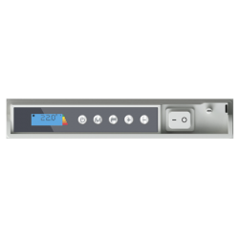 ICON 20 Wi-Fi – kolor Biały lub Antracyt – 2000W pionowy energooszczędny grzejnik elektryczny z wbudowanym modułem Wi-Fi