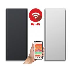ICON 10 Wi-Fi – kolor Biały lub Antracyt – 1000W pionowy energooszczędny grzejnik elektryczny z wbudowanym modułem Wi-Fi