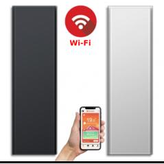 ICON 15 Wi-Fi – kolor Biały lub Antracyt – 1500W pionowy energooszczędny grzejnik elektryczny z wbudowanym modułem Wi-Fi