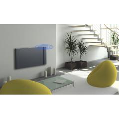 KLIMA 7 z relingiem - 750W grzejnik elektryczny energooszczędny – kolor Antracyt